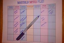 Meal Planning / by Rhonda Erickson