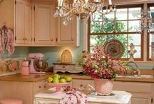 Shabby chic / Flower, pastel, and love