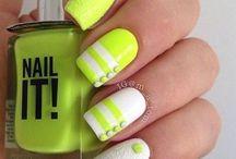 nail green