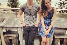 Ross Lynch and Laura Marano / Maggie and Liam