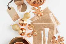 Copper leafing