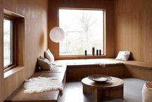winter chalet interiors