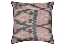 Silk Ikat Cushions - Square and Rectangular - Rosanna Lonsdale