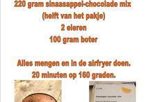 Airfryer / Recepten voor de airfryer