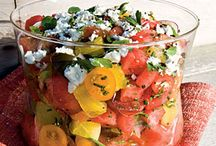 Recipes to Try-Salads, Dressings and Salsas / by Kathy Wallace