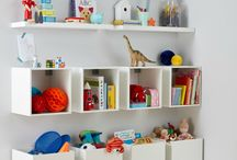 Children's Storage Ideas / If storage is a problem, look no further, here you find a section of stylish options that will hide the clutter!