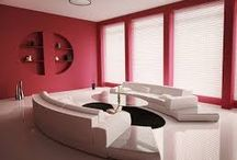 Colour Palate / Colourful rooms in houses.