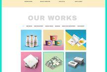 NOHA website inspirations