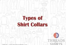 Types of Collars / Various Types of Shirt Collars : For more details visit us at goo.gl/jNX80t