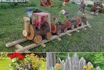 Κήπος, βεράντα