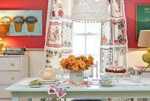 Curtains and window treatments and things I like / Textiles