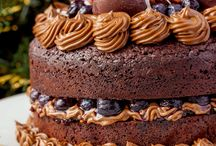 top inspired layered cake