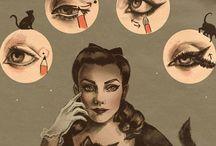 makeup / vintage?