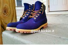 Custom Boots and Dye