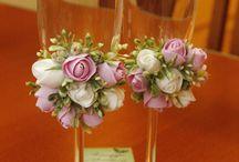 Flowers polymerclay