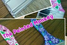 The Painted Monkey  / Items you can order from our business / by Miriam Ledford