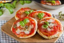 pizze  focacce salati.....