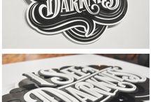 Typography / Typography reference - Handmade Typography