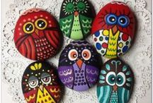 Rock painting and rock art