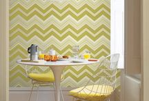 CHEVRON WALLPAPER FOR EVERY ROOM / CHEVRON WALLPAPER INSPIRATION