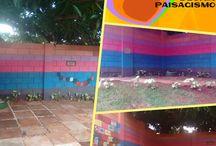 Projeto Colorindo com Amor / Design Social realizado no CMEI Hugo de Morais Goiânia Go