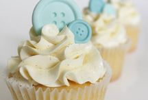 chanice baby shower cupcake
