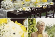 Yellow Wedding Ideas / http://weddingskenya.com