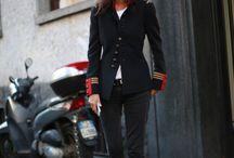 Creative military jackets