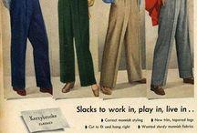 Fashion 1940-1950-e