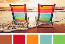 Färger Strand och Hav