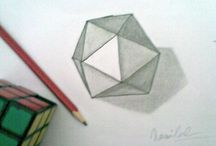 With Pencil / this is my project with pencil and paper