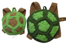 Crochet and Knitted Bags & Purses