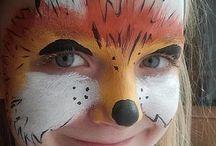 maya face paint