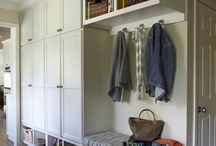 Mud rooms/storage