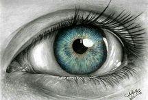 oczy rysunki