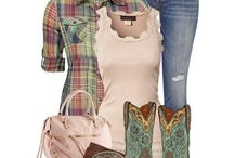 country stuff  / Cowgirl boots and outfits