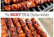 Barbecue Chicken Kabobs