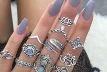 ☆Rings Anillos Nails Manos☆