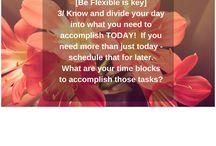Tip Board (Coaching by GJ) / Gloria-Jean's tips shared from other social media sites.