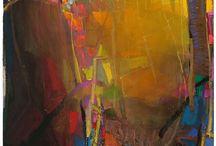 skilder abstrak