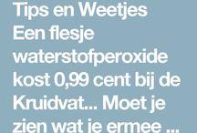 Waterstofperoxide weetjes