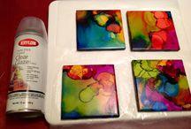 arte con pinturas