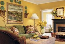 Living room decor / by Nicole Barfield