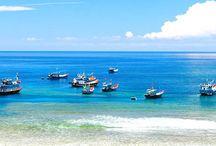 Ly Son Insel / Ly Son ist ein Landkreis von Quang Ngai Provinz und ca. 30km vom Festland entfernt. Ly Son Insel  ist  einer der landesweit schönsten Raum mit vielen historischen, kulturellen Denkmälern und  wunderschönen Sehenswürdigkeiten.