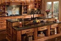 Log Home Kitchens / by LogFinish.com