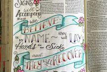 Bible Journaling - Mark