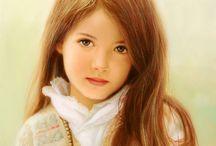 Children pastell