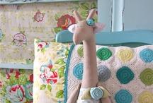 Crochet and fabric