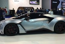 FENYR SUPERSPORT / ENYR Supersport WMotors 900 Horsepower, After W Motors finished making Lykan hypersport as much as 7 units, the brand from the Middle East was again creating a new creation that is pretty crazy too.