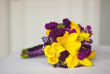 Yellow Fall Wedding Flowers